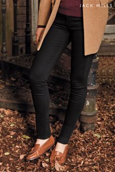 Jack Wills Black Fernham Super Skinny Jean