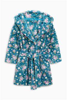 Rose Print Robe (9mths-8yrs)