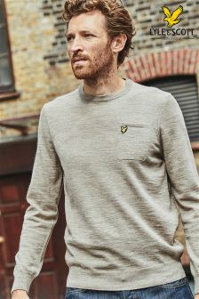 Lyle & Scott Oat Knit Jumper