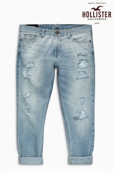 Hollister Rip And Repair Jean