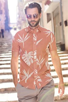 Pink Mens Shirts | Pink Shirts for Men | Next Official Site
