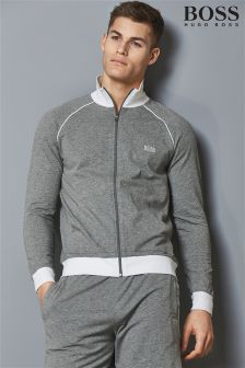 Boss Hugo Boss Grey Zip Top