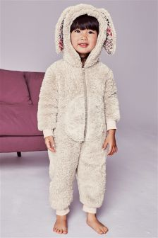 Bunny Fleece All-In-One (9mths-8yrs)