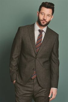 Textured Tailored Fit Suit