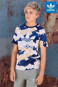 adidas Originals Camouflage Print T-Shirt