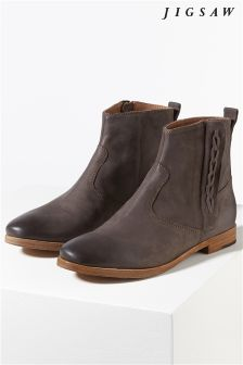 Jigsaw Brown Western Boot
