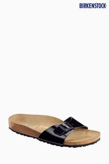 Birkenstock® Black Patent Madrid Sandal