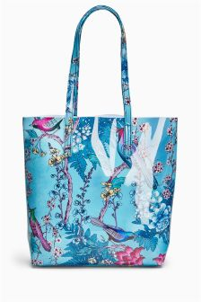 Printed Shopper Bag
