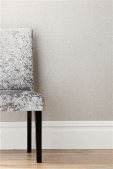 Antique Silver Textured Metallic Wallpaper