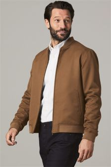 Slim Fit Bomber Jacket
