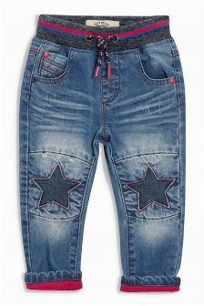 Star Knee Jeans (3mths-6yrs)