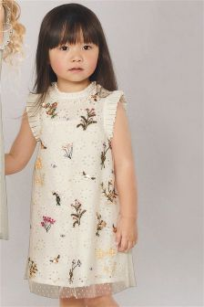 Embellished Shift Dress (3mths-6yrs)