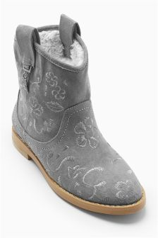 Embroidered Western Boots (Older Girls)
