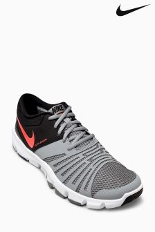 Nike Gym Stealth Grey/Hyper Orange Flex Show TR 5