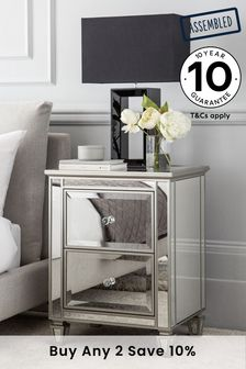 mirrored furniture next. Fleur Bedside Table Mirrored Furniture Next R