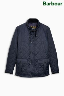 Barbour® Navy Tiller Quilted Jacket