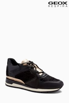 Geox D Shahira Black Sneaker