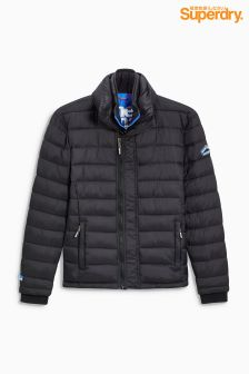 Superdry Grey Marl Padded Jacket
