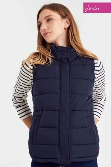 Joules Marine Navy Eastleigh Padded Gilet