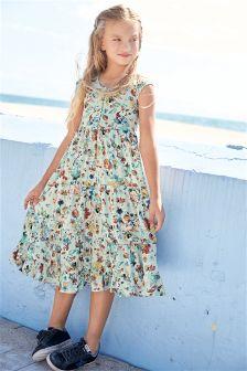 Print Maxi Dress (3-16yrs)