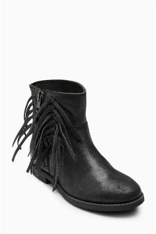 Fringe Boots (Older Girls)