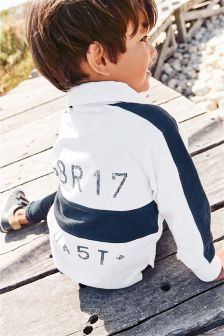 Long Sleeve Rugby Shirt (3mths-6yrs)