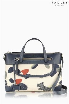 Radley® Ivory Dash Dog Large Zip Top Shoulder Bag