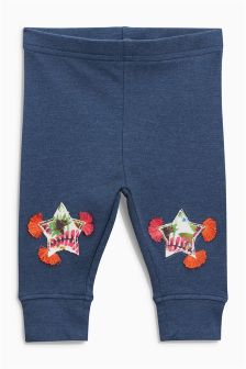 Star Appliqué Leggings (3mths-6yrs)
