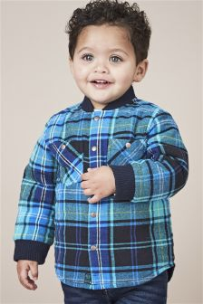 Reversible Check Shacket (3mths-6yrs)