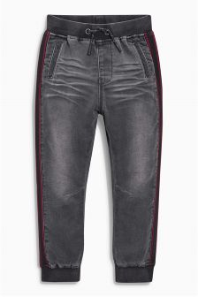 Jersey Look Denim Joggers (3-16yrs)