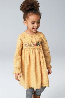 Character Embellished Dress (3mths-6yrs)