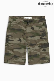 Abercrombie & Fitch Camo Print Cargo Short