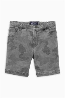 Camo Five Pocket Shorts (3-16yrs)