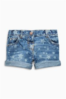 Star Printed Shorts (3mths-6yrs)