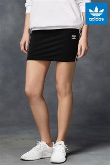 adidas Originals Black 3 Stripe Skirt