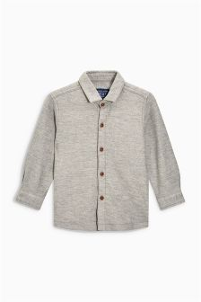 Herringbone Textured Shirt (3mths-6yrs)