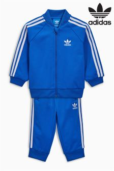 adidas Originals Baby Blue 3 Stripe Tracksuit