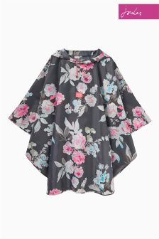 Joules Grey Beau Bloom Poncho