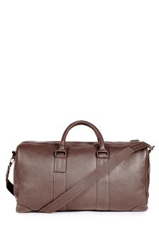 Brown Grainy Holdall