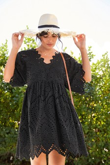 Coast Black Mardissa Lace Dress