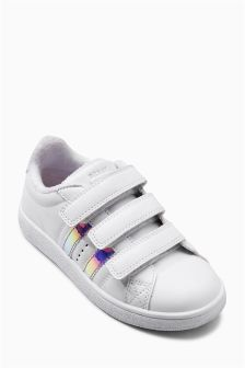Mermaid Stripe Trainers (Older Girls)