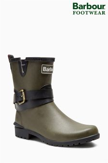 Barbour® Biker Buckle Short Welly
