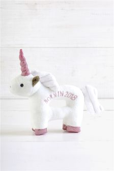 Born in 2018 Unicorn Rattle