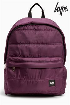 Hype Burgundy Backpack
