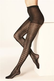 Knitted Pellerine Tights