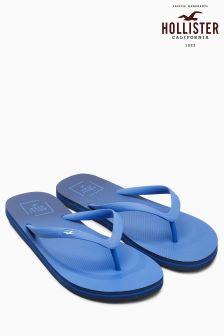 Hollister Blue Ombre Flip Flop