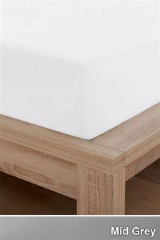 600 Thread Count Egyptian Cotton Sateen Deep Fitted Sheet