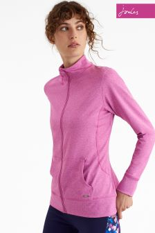 Joules Pink Viva Active Zip Jacket