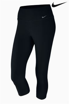 Nike Black Power Training Capri