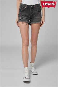 Levi's® 501 Slashed Black Short